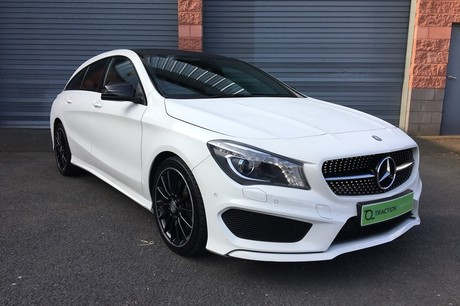 Mercedes-Benz CLA Class 2.1 CLA220 AMG Sport Shooting Brake 7G-DCT (s/s) 5dr (Estate)