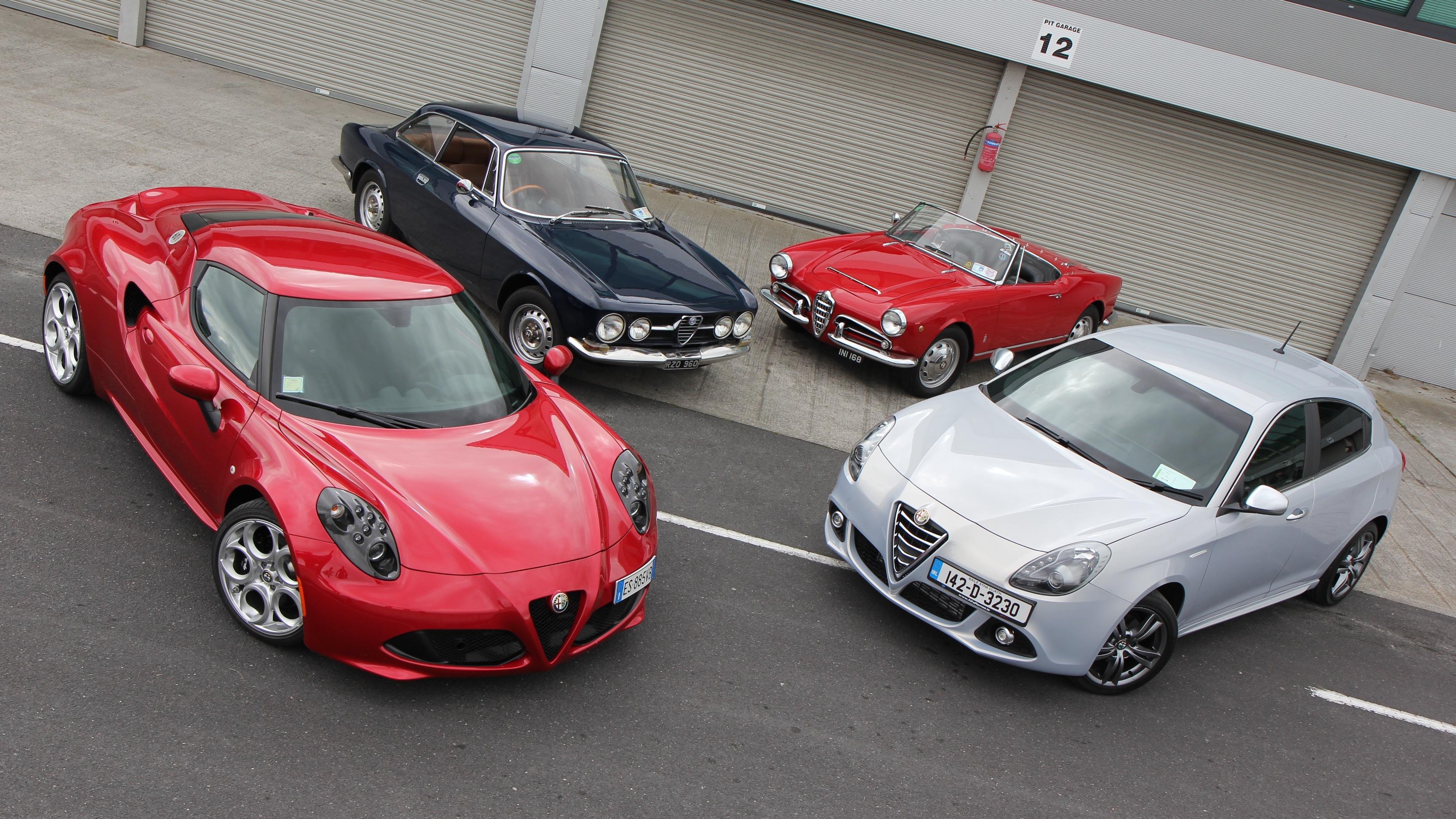 Alfa Romeo 4C petitors – Auto Bild Idee