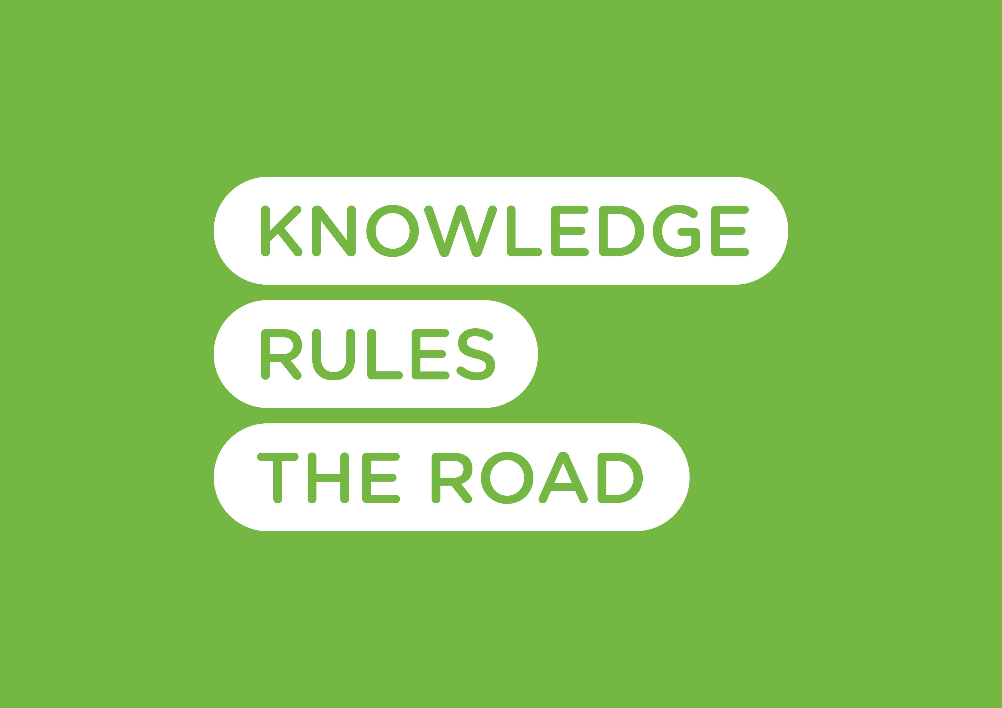Knowledge Rules the Road