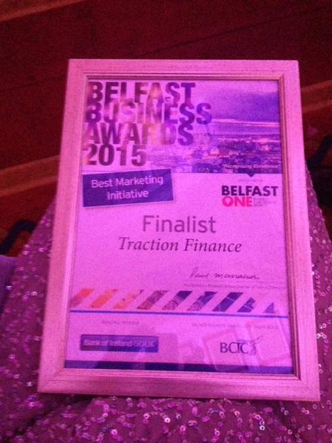 Belfast Award Winning Hair Beauty Salon Riah Hair: Traction Belfast Business Awards 2015 Finalists Contract